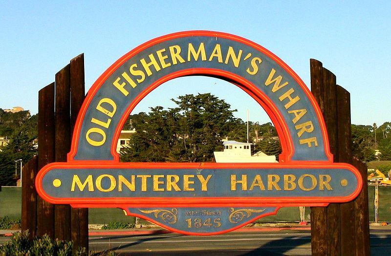 Old fisherman wharf monterey bay